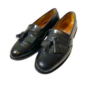 Allen Edmonds Bridgeton Leather Black Loafers